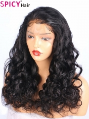 Spicyhair 200% density free shipping Loose wave for women 360 lace wig
