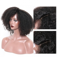 Spicyhair 100% No Tangle Afro Kinky Curly 360 lace human wig
